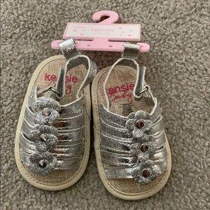 Kenzie Baby glitter sandals BRAND NEW